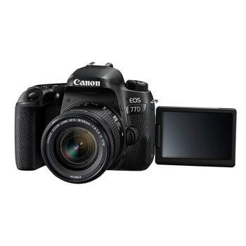Canon 77D: spiegelreflex met professionele trekjes