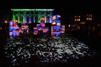 Wandeltocht Illuminade Amsterdam   Internationaal licht- en waterfestival