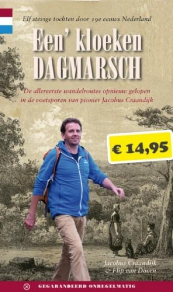 Wandelgids 'Een' kloeken dagmarsch' van Flip van Doorn