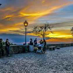 Wandelvakantie Monti Sabini in Italië   Balkon van Lazio