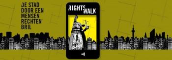 RightsWalk van Amnesty: drie thema-wandelingen plus mooie app