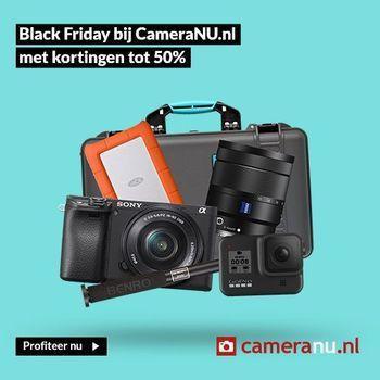 Black Friday Camera's & Objectieven Deals 2021