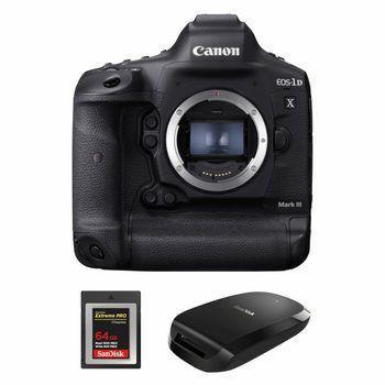 Canon EOS-1D X Mark III: vlaggenschip DSLR voor professionals