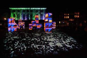 Wandeltocht Illuminade Amsterdam | Internationaal licht- en waterfestival