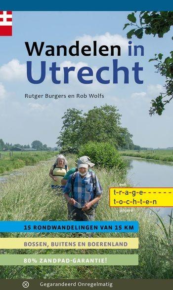 Wandelgids 'Wandelen in Utrecht' met 15 Trage Tochten